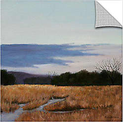 ArtWall Julie Petersons Winters Morning Removable Wall Art Mural, 24 x 24