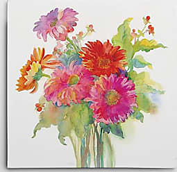 WEXFORD HOME Mixed Bouquet Gallery Wrapped Canvas Art Print, 32x32