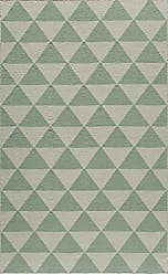 Momeni Rugs LAGUALG-11MNT5080 Laguna Collection, 100% Wool Hand Woven Flatweave Contemporary Area Rug, 5 x 8, Mint Green