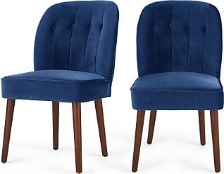 Chaises En Bleu 339 Produits Soldes Jusqu A 50 Stylight