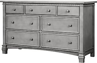 Évolur Cheyenne and Santa Fe 7 Drawer Double Dresser - 827-SGY