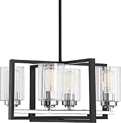 Savoy House 1-2150-4 Redmond 4 Light 20 Wide Chandelier with Glass