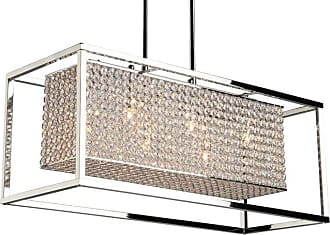 Artcraft Lighting AC10326 Vega 6 Light Crystal Linear Chandelier - 29