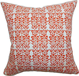 The Pillow Collection Silvia Floral Bedding Sham Persimmon King/20 x 36