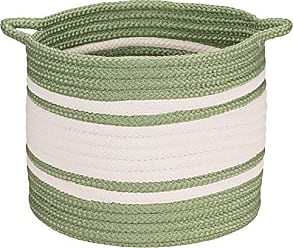 Colonial Mills Outland Basket, 20x20x18, Green