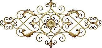 Stratton Home Decor Stratton Home Decor Antique Gold Scroll