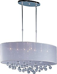 Maxim Lighting ET2 E22387-120PC Veil 9-Light Single Pendant, Polished Chrome Finish, Glass, G9 Xenon Bulb, 20W Max., Dry Safety Rated, 2900K Color Temp., Standard Dimmable, Shade Material, 480 Rated Lumens