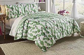 Ellery Homestyles Vue Otto Reversible Quilt Set, Full/Queen, White