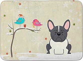 Carolines Treasures Bulldog English Wipe Your Paws Floor Mat 19 x 27 Multicolor