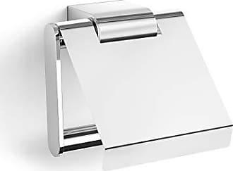 Zack Atore Toilet roll Holder, Silver