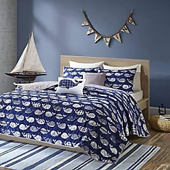 Urban Habitat Moby Twin/Twin XL Bedding Sets Boys Quilt Set - Navy, Whale - 4 Piece Kids Quilt for Boys - 100% Cotton Quilt Sets Coverlet