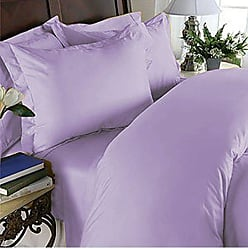 Elegant Comfort 3 Piece 1500 Thread Count Luxury Ultra Soft Egyptian Quality Coziest Duvet Cover Set, Full/Queen, Lilac
