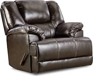 United Furniture Simmons Upholstery Bingo Swivel Glider Recliner - 50451BR-16 BINGO BROWN