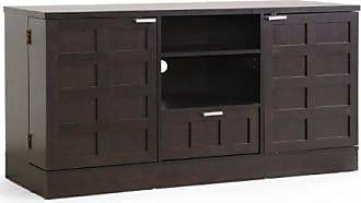 Wholesale Interiors Baxton Studio Tosato Brown Modern TV Stand and Media Cabinet