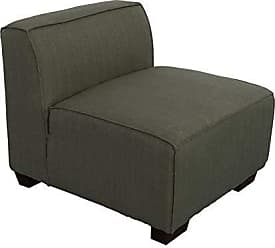 CorLiving LZY-838-A Lida Sectional Chair Greenish Grey