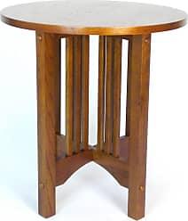 Wayborn Oak Round End Table - 9069