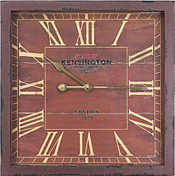 Yosemite Home Decor Yosemite Home Decor Square Wooden Wall Clock, Multi