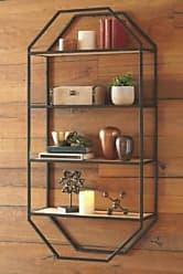 Ashley Furniture Elea Wall Shelf, Black/Natural