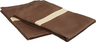 Superior Impressions 300 Thread Count 100% Cotton, Hotel Collection, Single Ply, Standard Pillowcase Set, Mocha with Honey