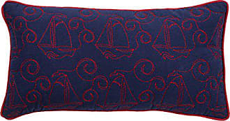 Rizzy Home Kids Pillow Boats Decorative Pillow, Purple