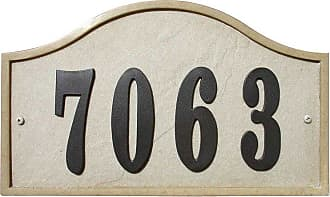 QualArc Ridgestone DIY Serpentine Stone Address Plaque Sandstone - RIG-4913-SS