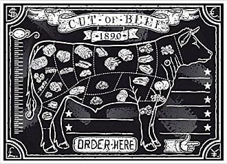 500 unit/és Garcia de pou Sets De Table Offset Steak House 70 G//M2 31X43 Cm Cuatricrom/ía Litos