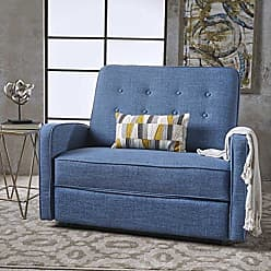 Christopher Knight Home 301530 Callade Reclining Loveseat, Muted Blue