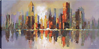 Art Maison Canada City Reflections Wall Art - HAYIMP5201ONL