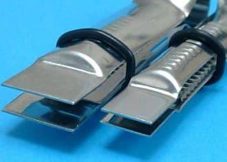 PME OS271 Open Scallop Serrated Fondant Crimper 1//2 Standard Silver