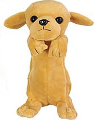 Wrapables Cute Puppy Pouch Plush Pencil Case, Gold Retriever
