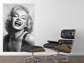 Ideal Decor Marilyn Monroe Laughing Wall Mural - DM667