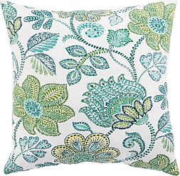 Jaipur Living Rugs Veranda Paisley Floral Indoor Throw Pillow Moroccan Blue/Piquant Green - PLP100069