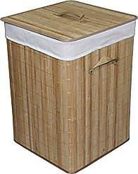 Ore International ORE International BW1202CB Square Folding Rayon Laundry Basket, 19.75-Inch