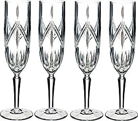 Waterford 40032083 Lacey Flute Set of 4, 8 ounce, Clear