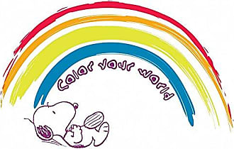 Marmont Hill Peanuts PE-SLRA-13-C-36 Color Your World Painting Print on Wrapped Canvas, 36 X 24