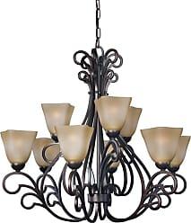 Woodbridge Lighting 12167-BOR Palermo 9 Light 32 Wide 2 Tier