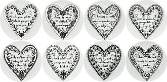 Fornasetti Love Set of 8 Coasters