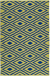 Kaleen Rugs Brisa Collection BRI02-22A Navy Handmade 2 x 3 Rug