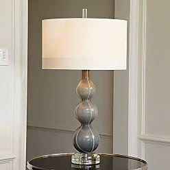 Global Views 8.81691 1 Light Accent Table Lamp Grey Lamps Accent Lamps