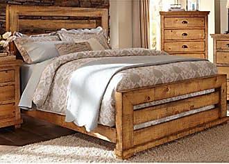 Progressive Furniture P608-60 Willow 5/0 Queen Slat Headboard, 66 x 3 x 58, Brown