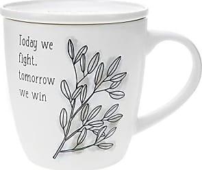 H2Z tableware Nurses are the Angels We Wish for Ceramic Hand Warmer Mug White