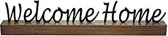 Foreside Home And Garden Welcome Home Word Block