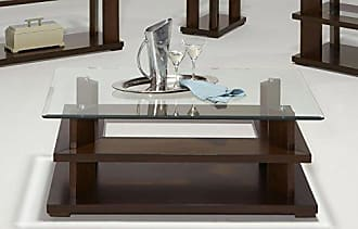 Progressive Furniture P404-01 Delfino Castered Cocktail Table, Burnished Cherry