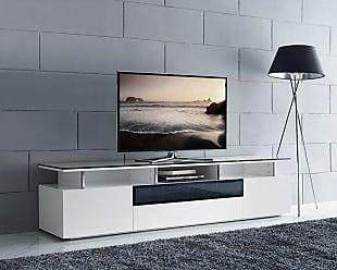 Whiteline Taylor TV Stand - EC1398-WHT