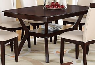 Poundex PDEX-F2290 Dining Tables, Brown