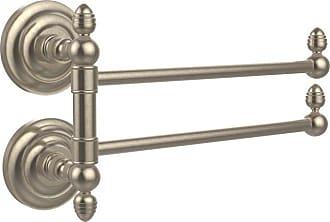 Allied Brass Que New 2 Swing Arm Towel Rail - QN-GTB-2-ABR