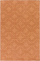 Surya Ashlee 8 x 10 Area Rug, Orange