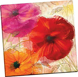 Portfolio Canvas Decor Penchant for Poppies I by Mindy Sommers 24x24x1.5, 1 Piece Canvas Wall Art