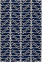 Kaleen Rugs Origami Collection ORG07-22 Blue 2 x 3 Handmade Rug