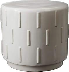 Dimond Home White Tread Stool